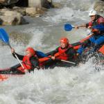 Descens en canoes de riu